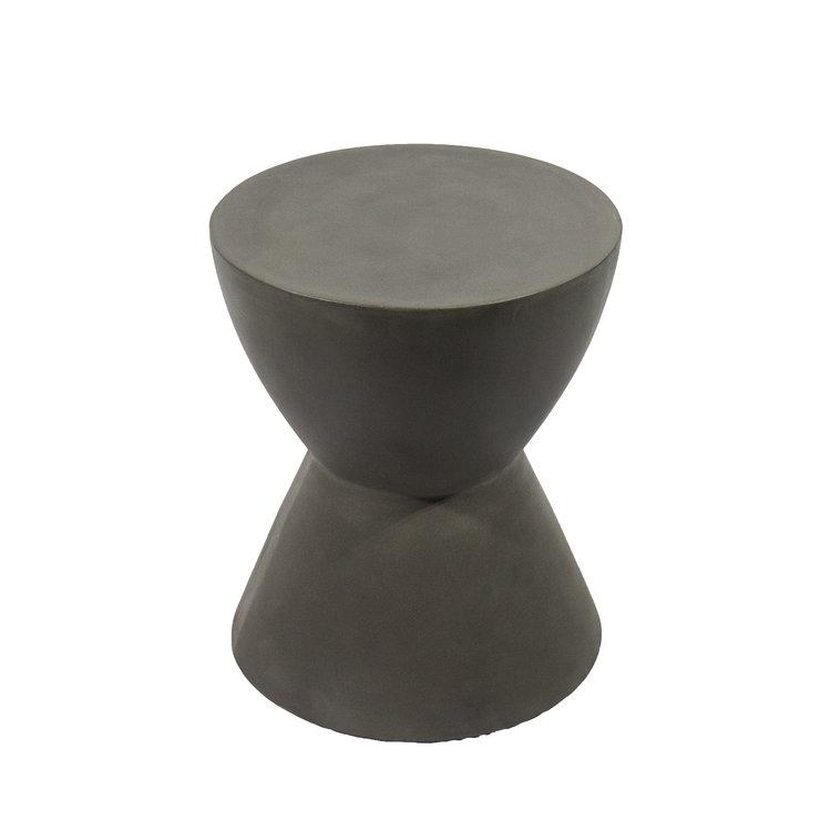 MODERN SLATE END TABLE