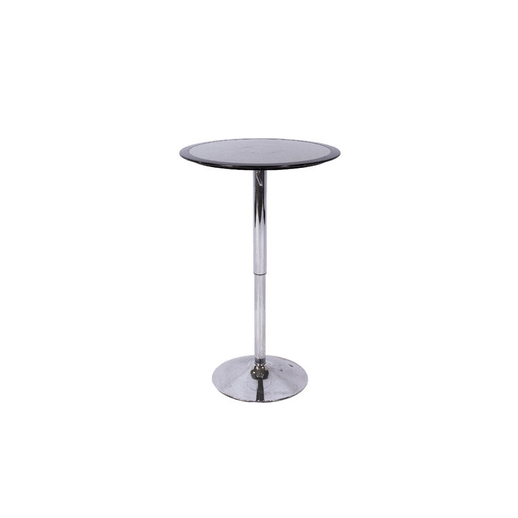 ROUND TOP COCKTAIL TABLE