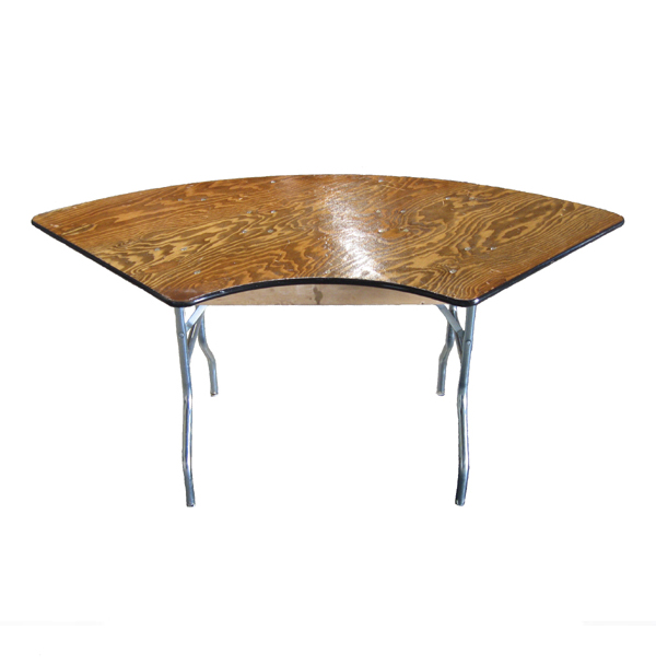 4' SERPENTINE TABLE
