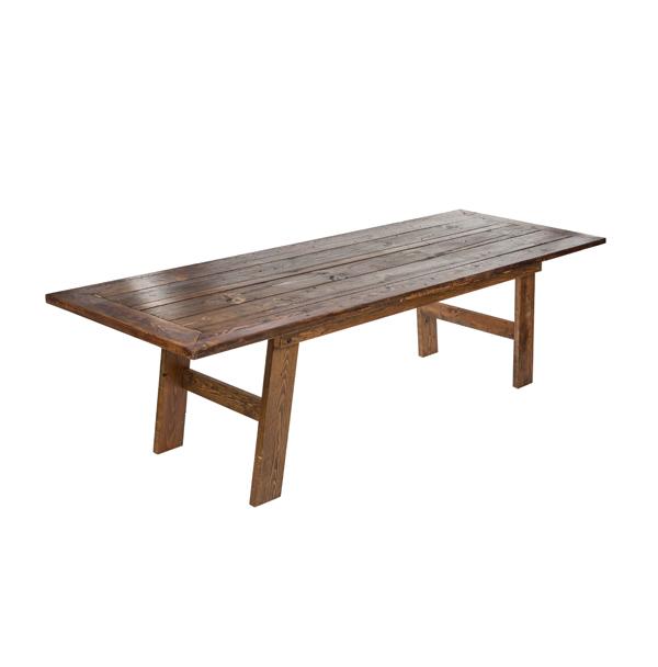 "9' X 39"" CHARLESTON DINING TABLE"