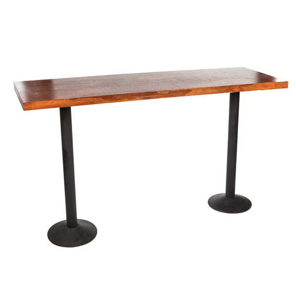SQUARE FINISHED WOOD TABLE