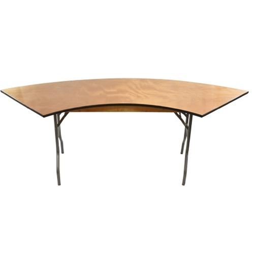 6' SERPENTINE TABLE