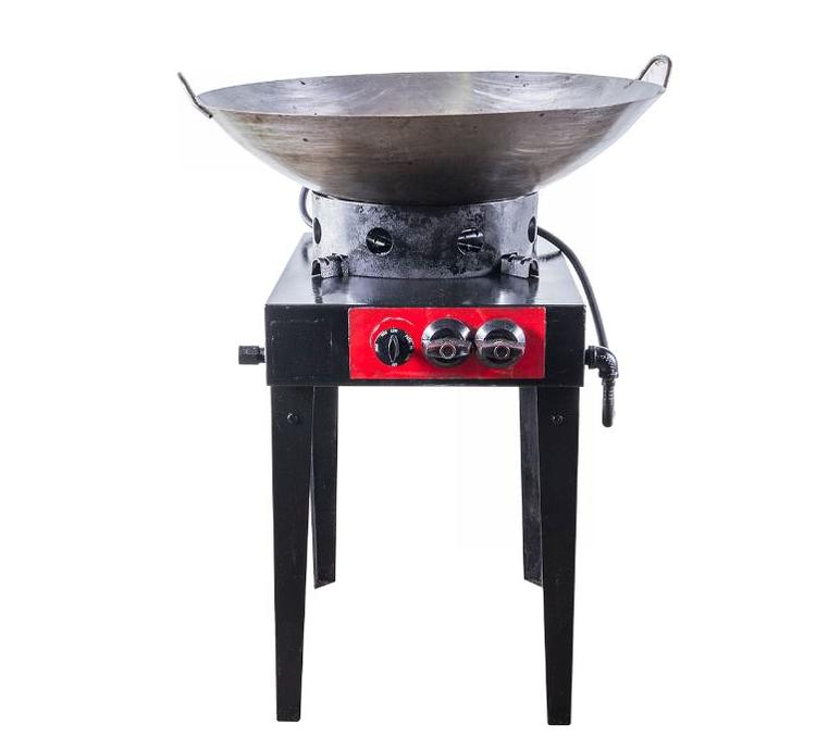 WOK BURNER W/ RING PAN