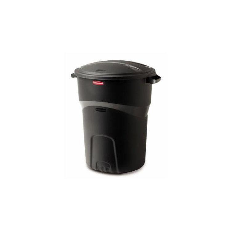 PLASTIC TRASH CAN 32 GAL