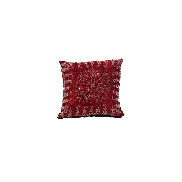 """RED BEARED 16"""" SQ"""