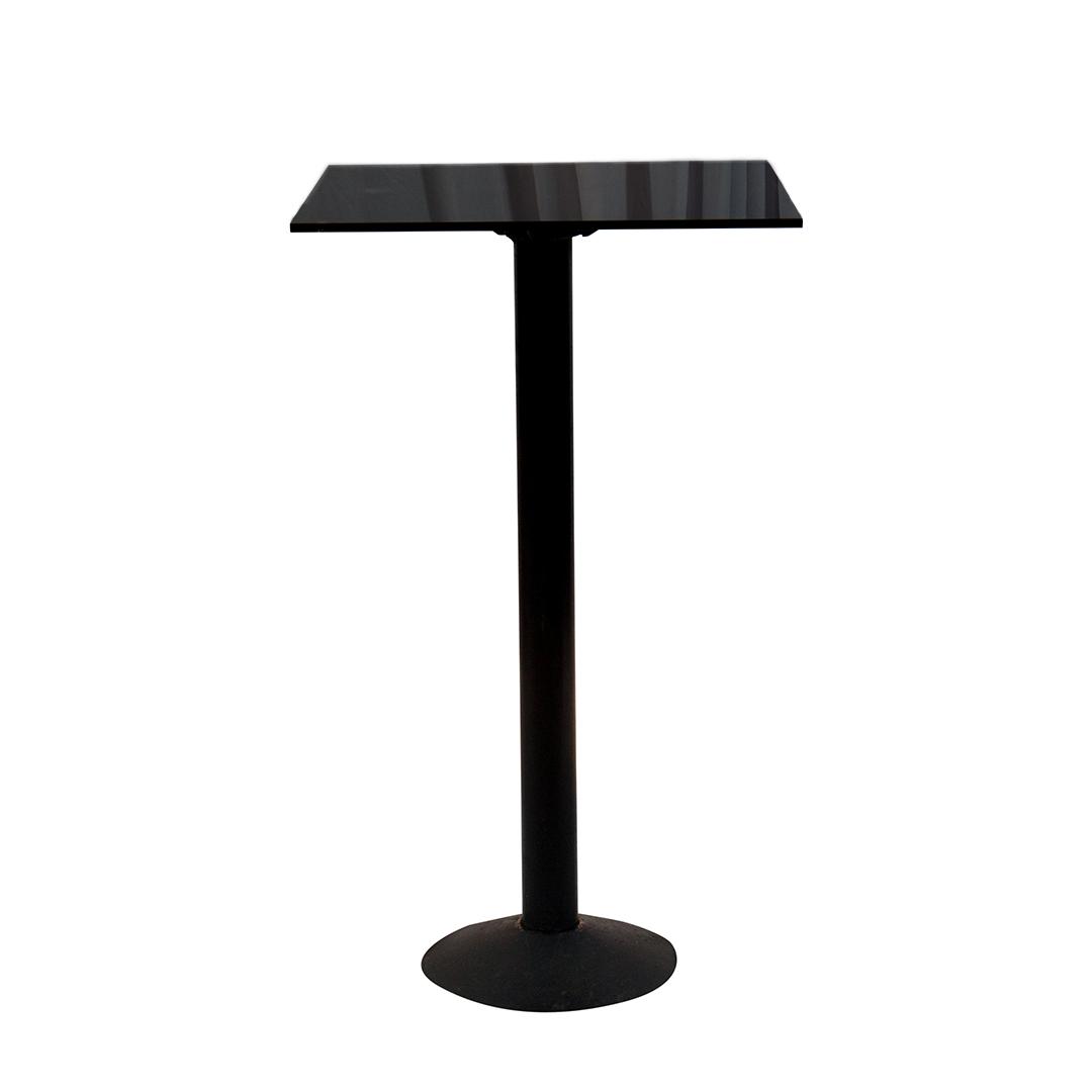 BLACK ACRYLIC COCKTAIL TABLE