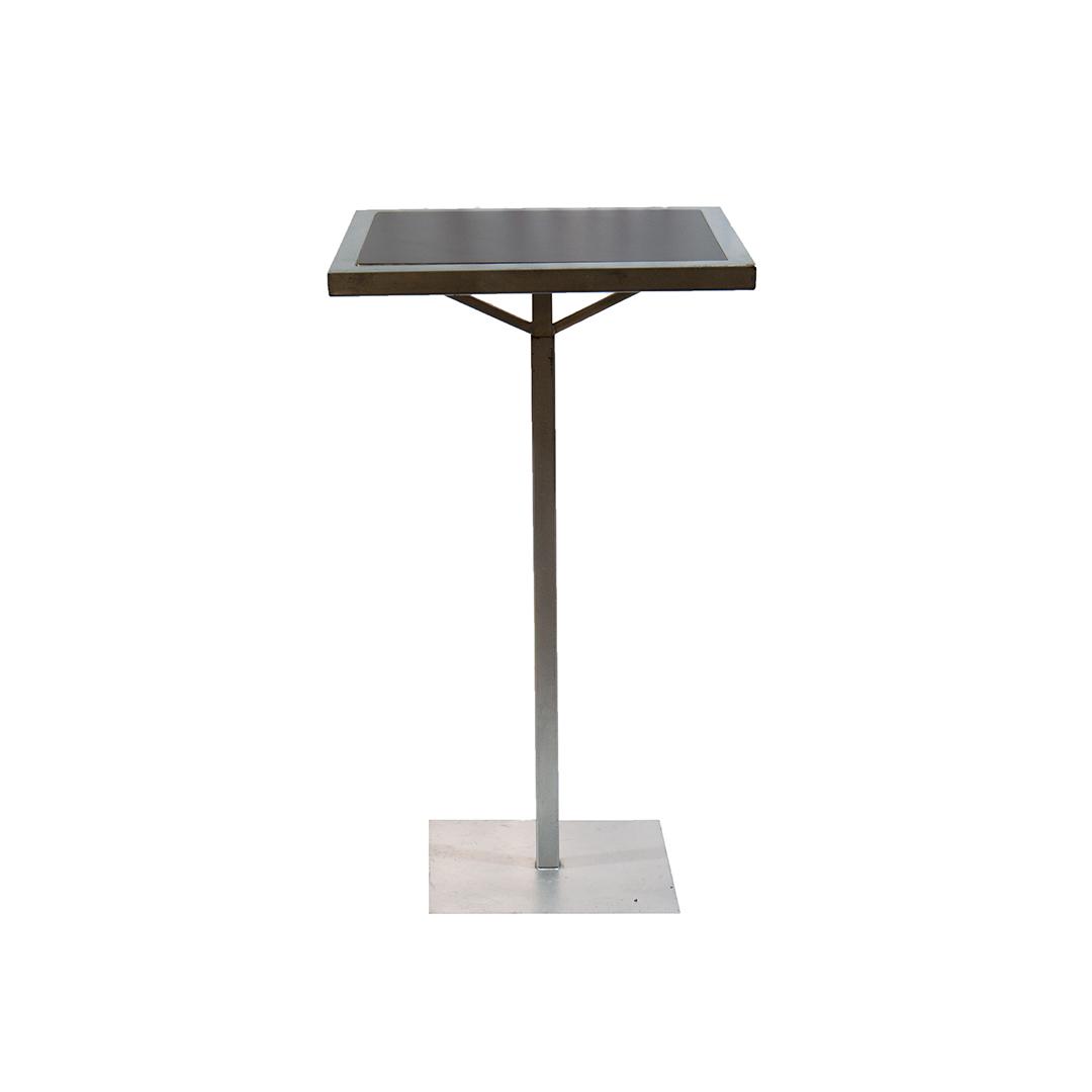 ADLER COCKTAIL TABLE - BLACK TOP