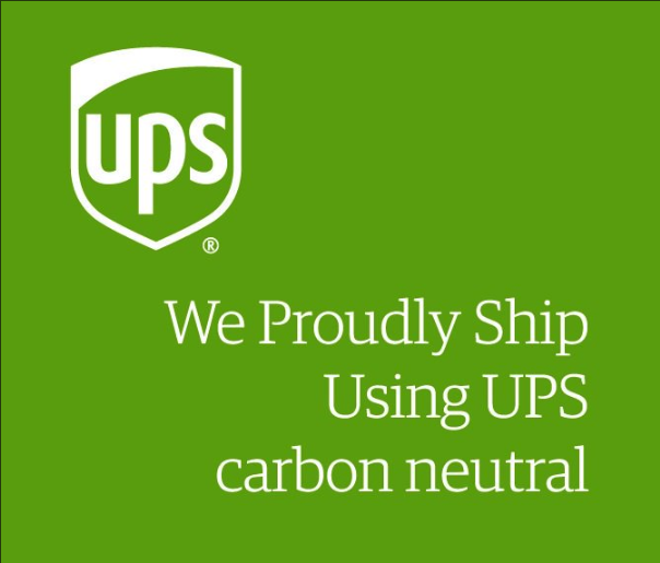 When available, we use carbon neutral shipping methods to reduce our impact on the environment.