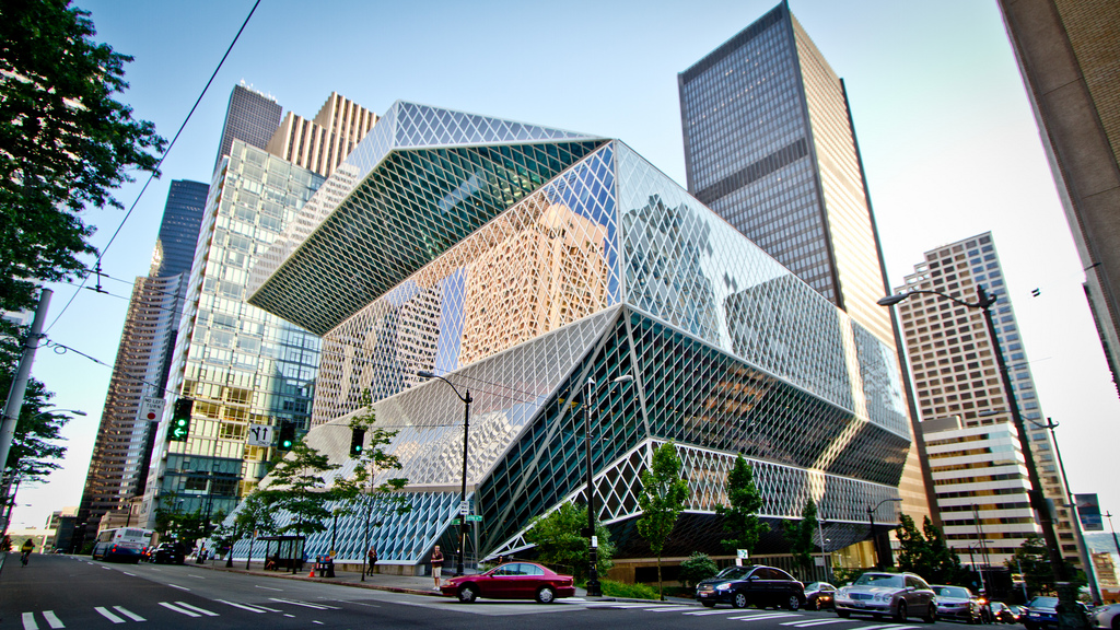 The Seattle Public Library, Central Branch