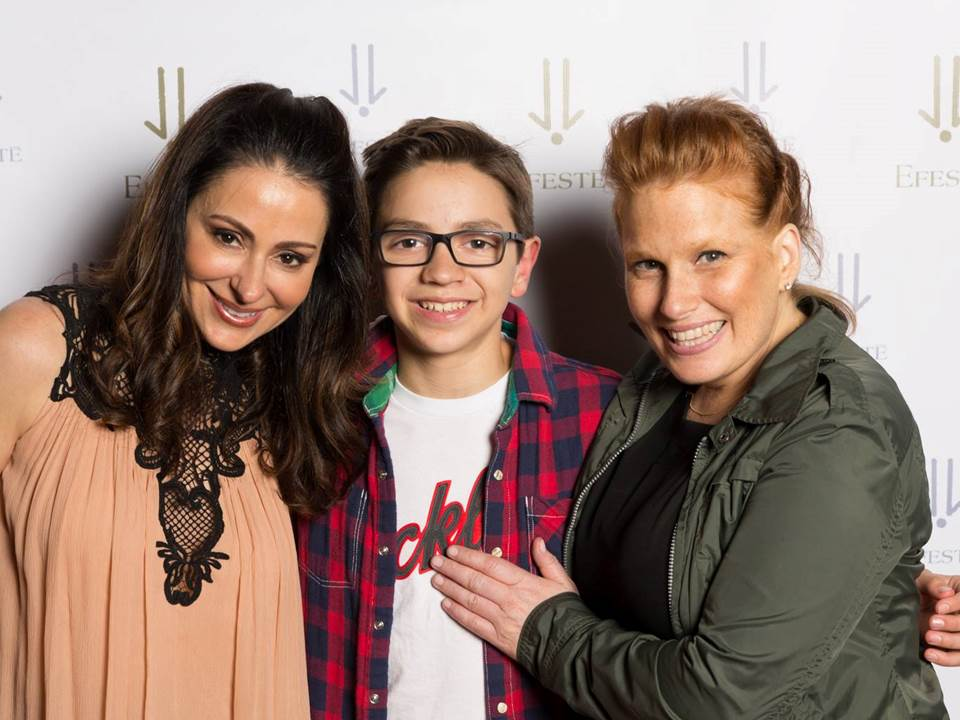 Angela and Joe Taylor with cancer survivor Ann Molitor.jpg