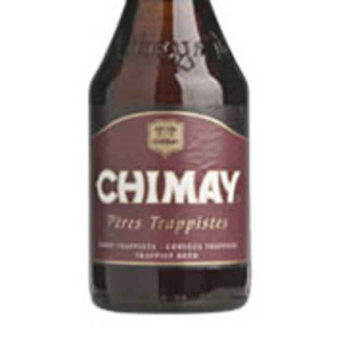 CHIMAY ROUGE   7.0% abv   Not too bitter and with a strong flavour and beautiful bouquet, this beer comes from the world famous Notre-Dame of Scourmont trappiste. It can be matched to food in the same way as a hearty red wine.