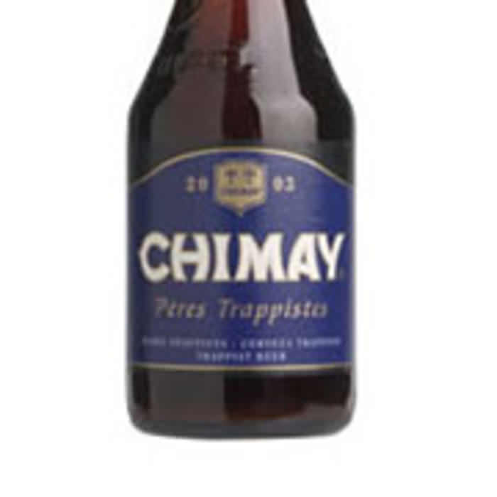 CHIMAY BLEU   9.0% abv   Chimay Bleu is a beer whose frangrance of fresh yeast with a light, flowery rosy touch is especially pleasant. When served at ambient temperature, its full strength is released and it reveals its richness of both body and soul.