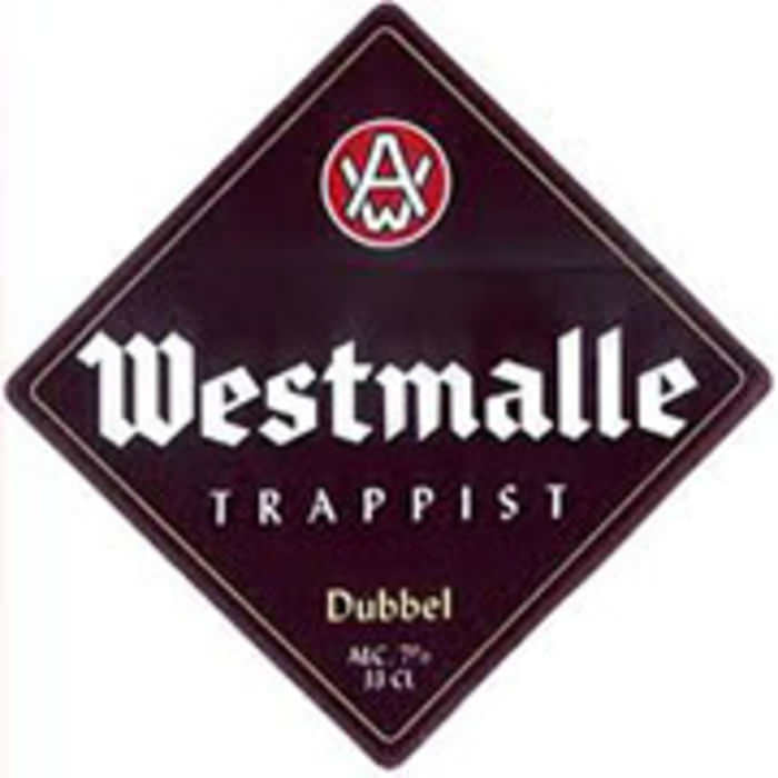 WESTMALLE DUBBEL   7.0% abv   Rich in colour, complex in taste. Beginning with a hint of malt, followed by warm dark fruit undertonesand fininshing with a touch of bitterness.