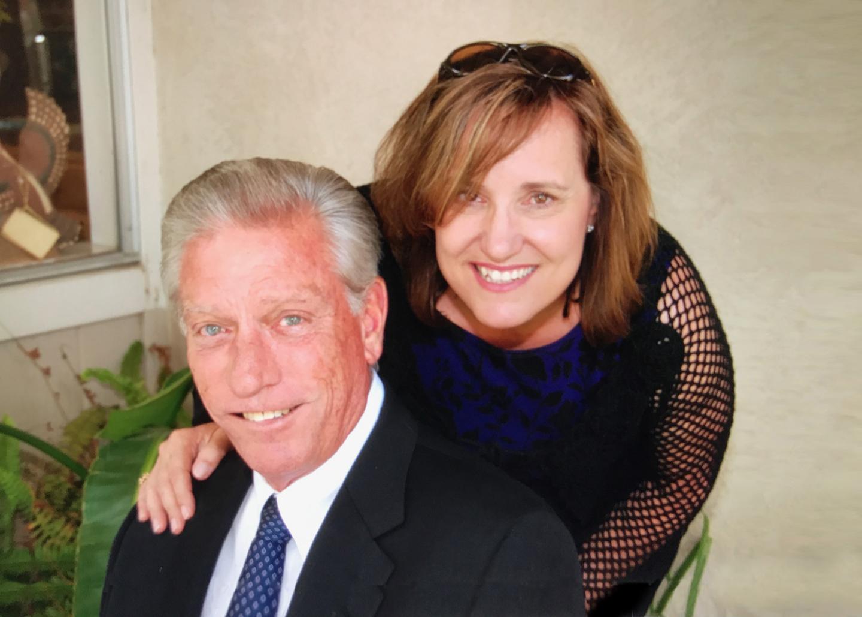 Jim with his wife, Tina
