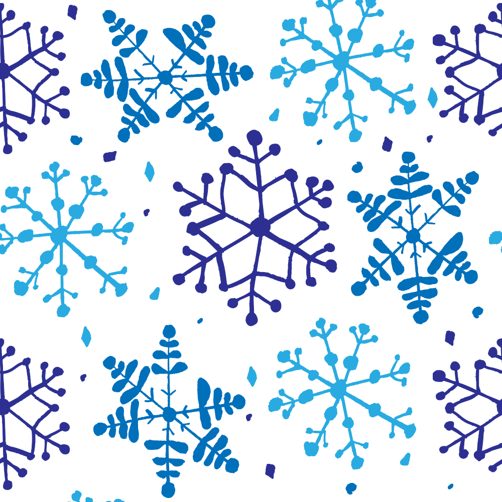 Snowflake Pattern Blue on White copy.png