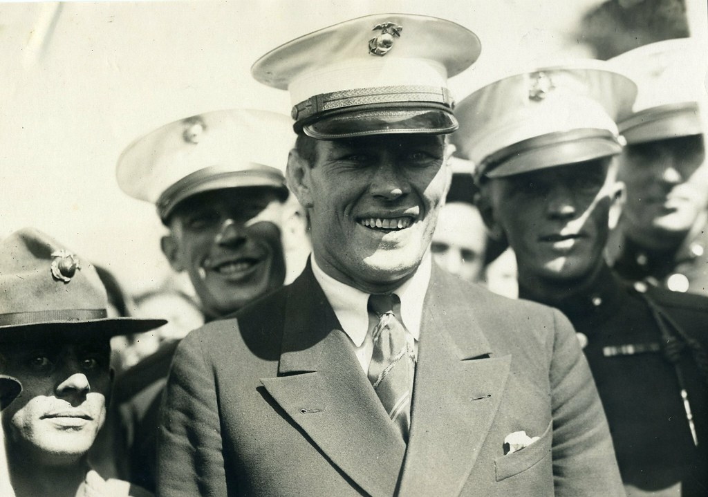 """The Fighting Marine"" - Gene Tunney"