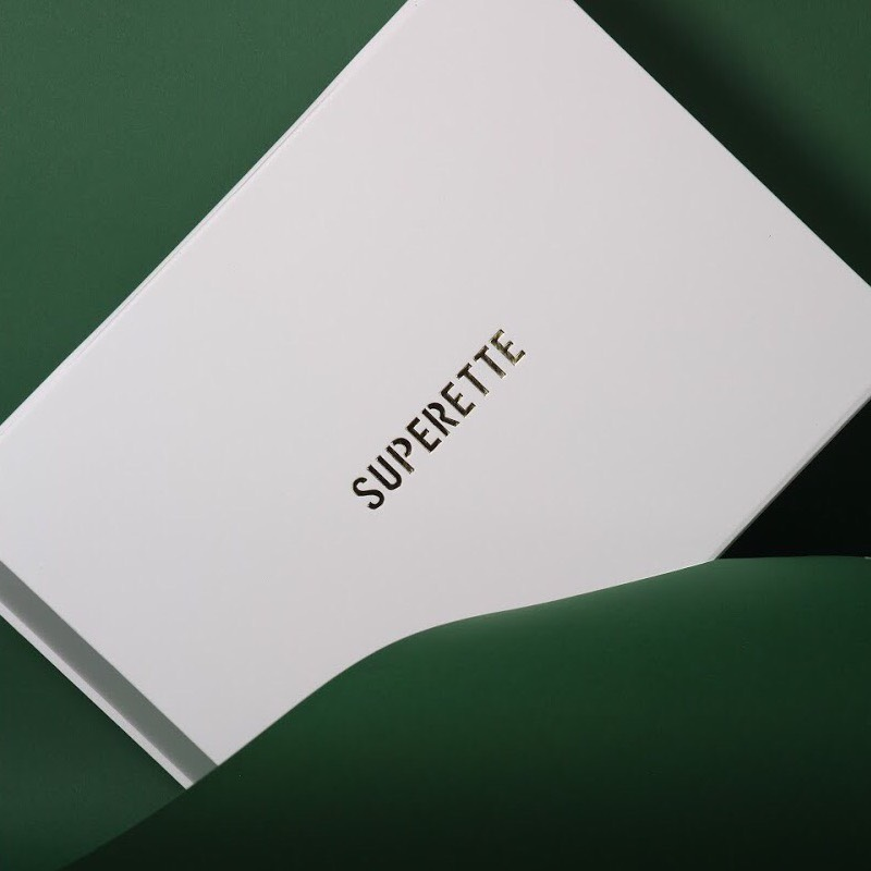 Superette by Porter Packaging shot on our Horizontal Machine