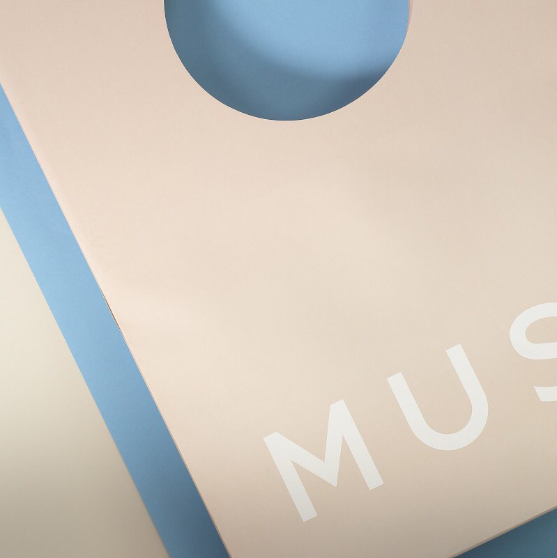 Muse Boutique's Bag by Porter Packaging photographed on our Vertical Machine