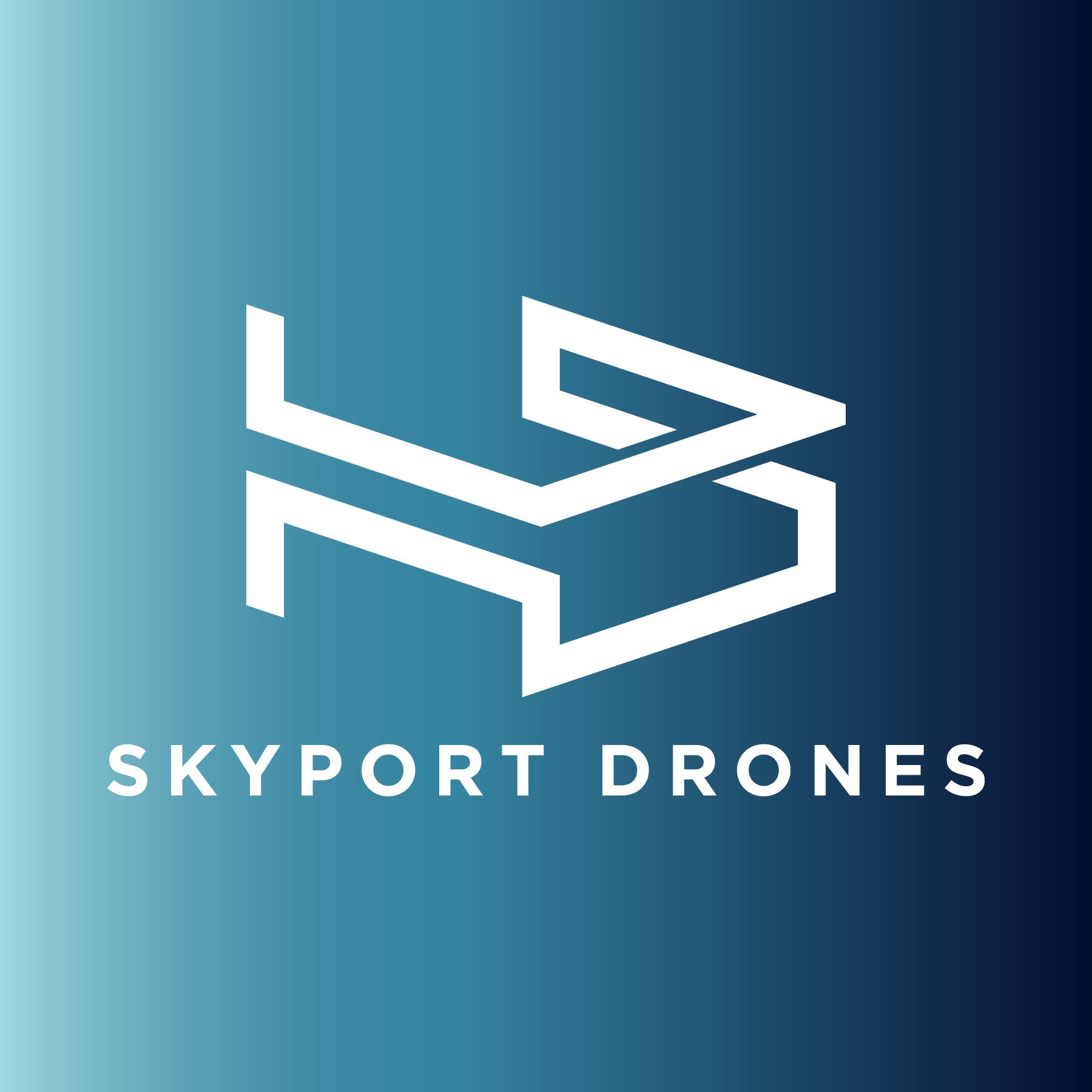 Skyport Drones Logo Download