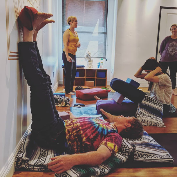 You will be introduced to - Hatha Yoga as well as Tantrik Philosophy, the healing benefits of Restorative yoga, the cathartic nature of Kundalini yoga, and how discovering your own path through all of these different modalities allows you to offer your own unique perspective as a teacher.