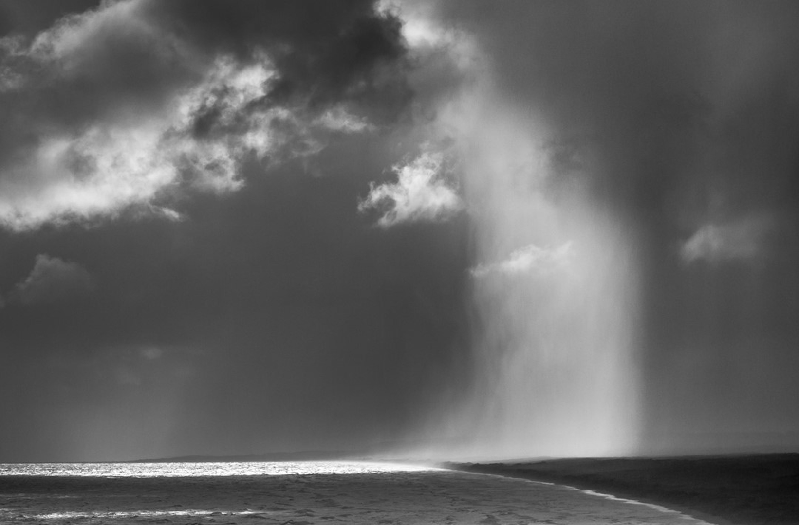 Downpour on Muriwai