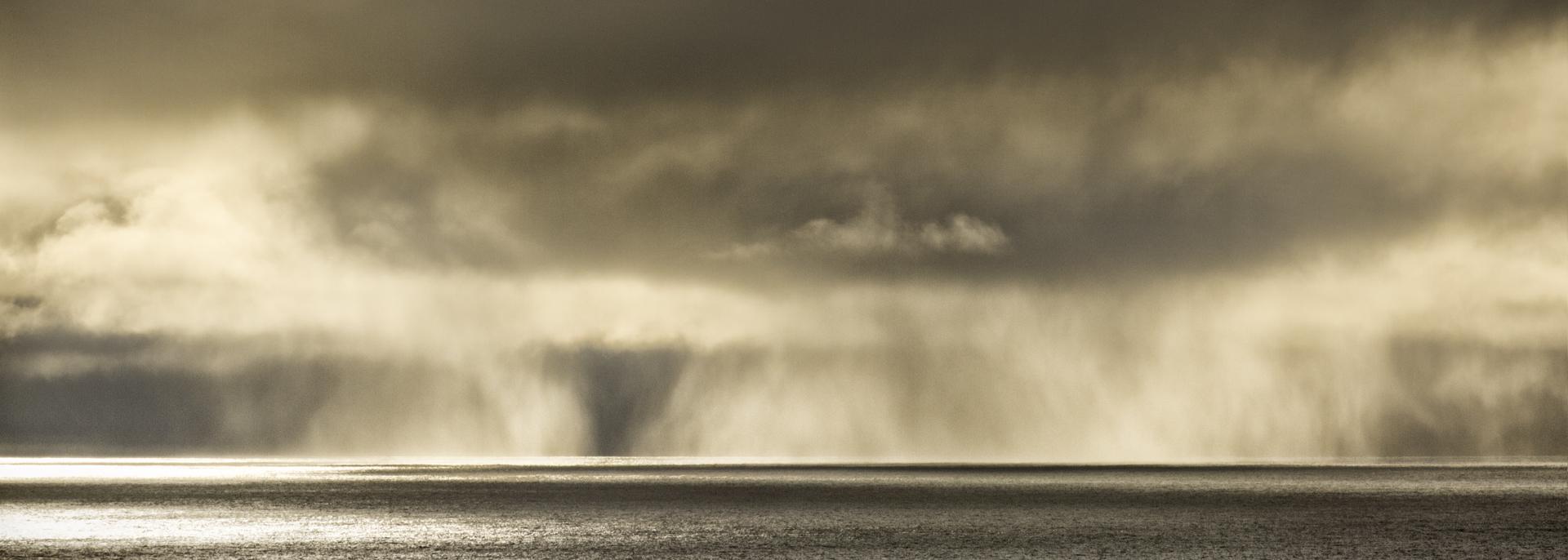 Rain out at Sea