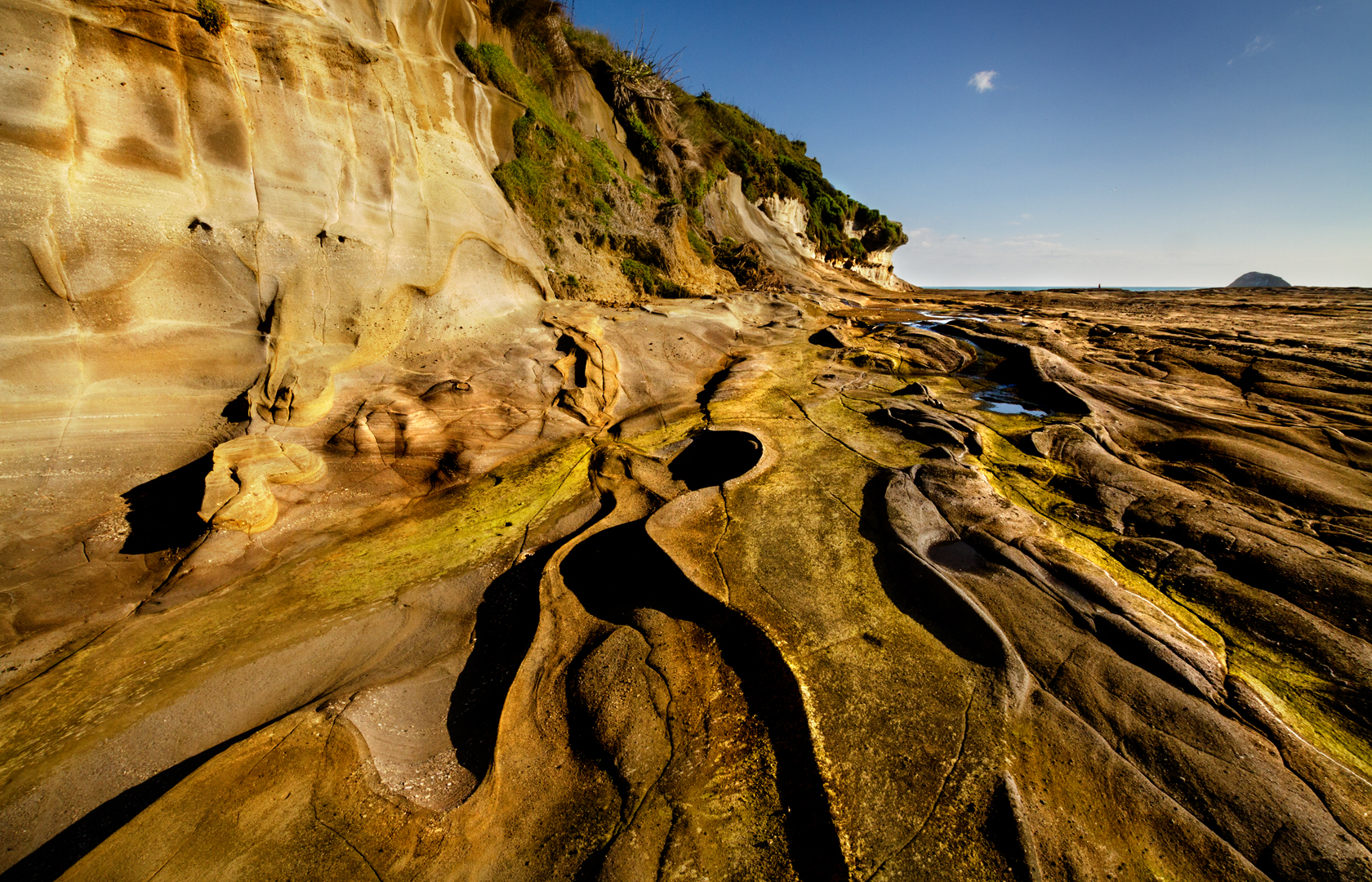 Sculptured by tide and time