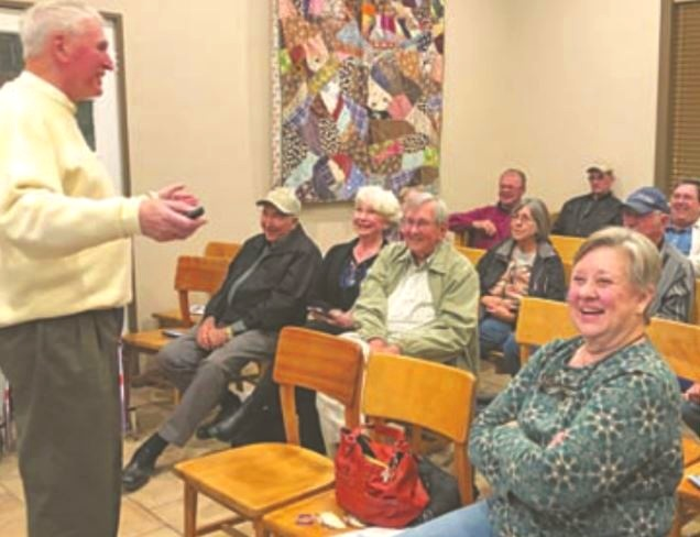 Wilson County Historical Society - A presentation about the Polish Heritage Center was given in Floresville, Texas, in November of 2018.