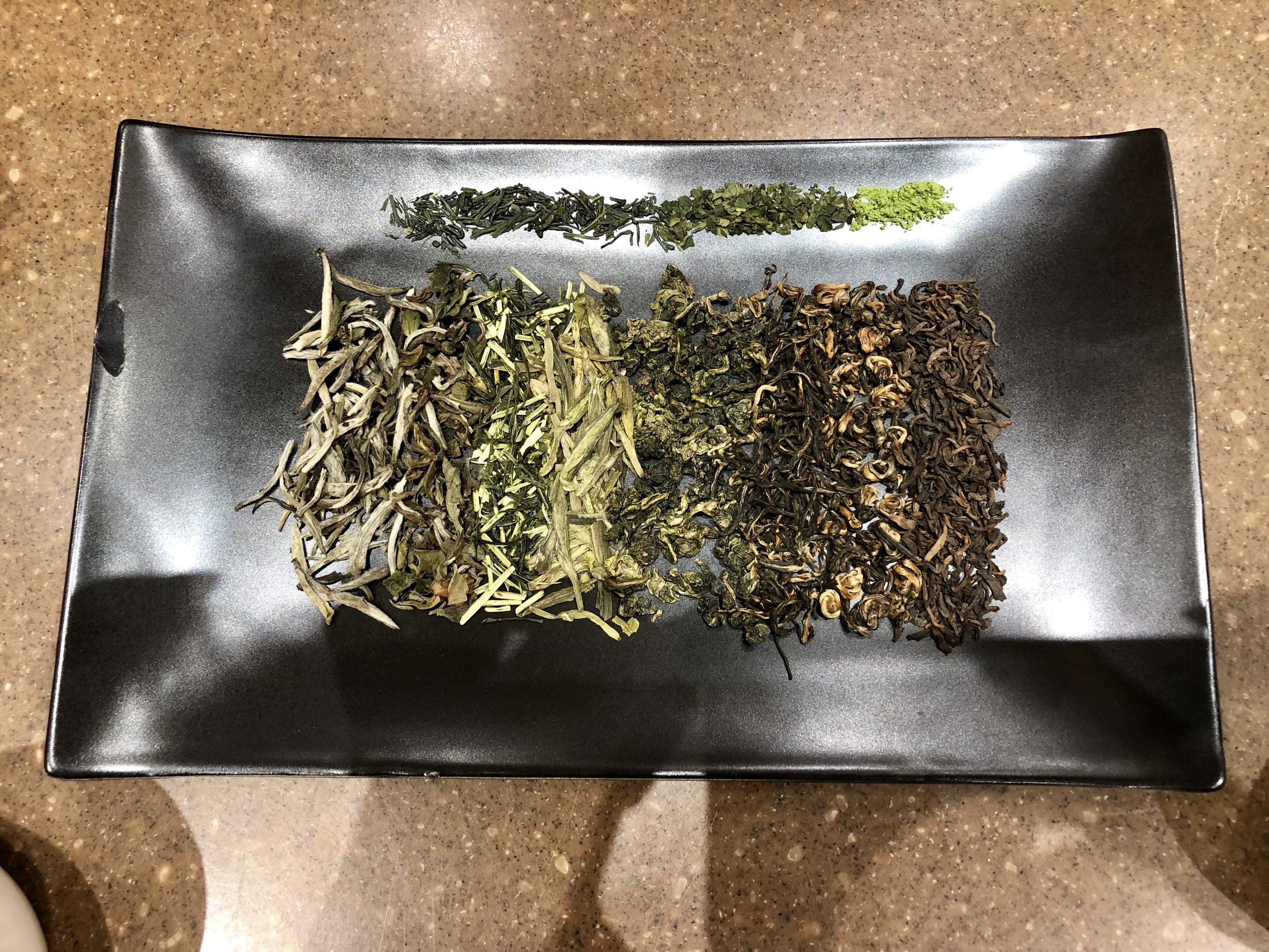 All teas come from the same plant. This, I think, is not unlike humanity. -