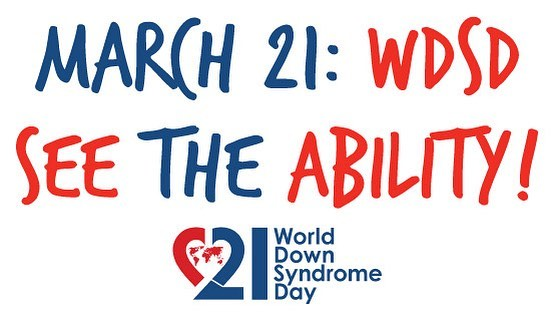 Happy national Down Syndrome Awareness day!!