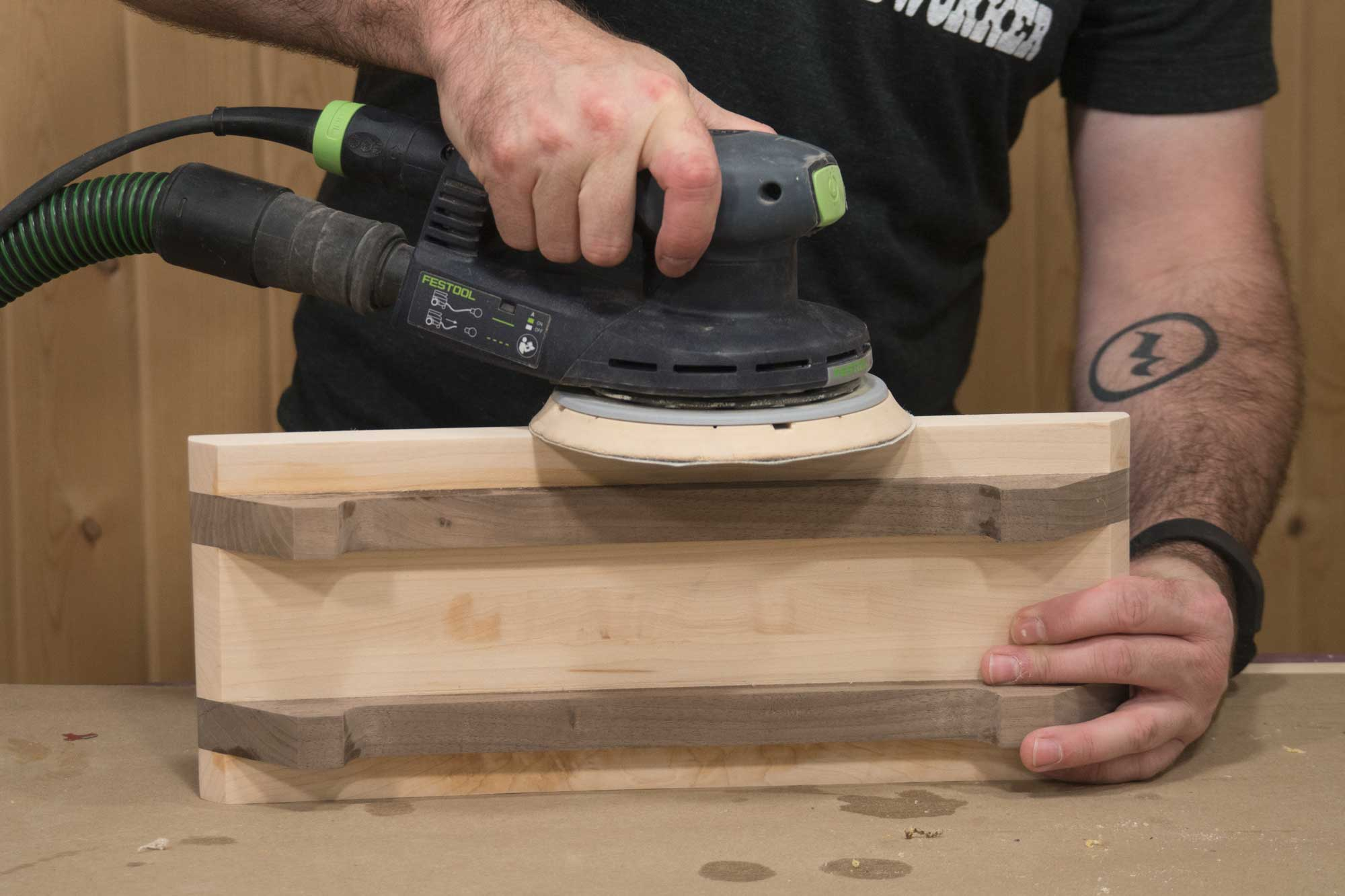Sanding Cutting Boards