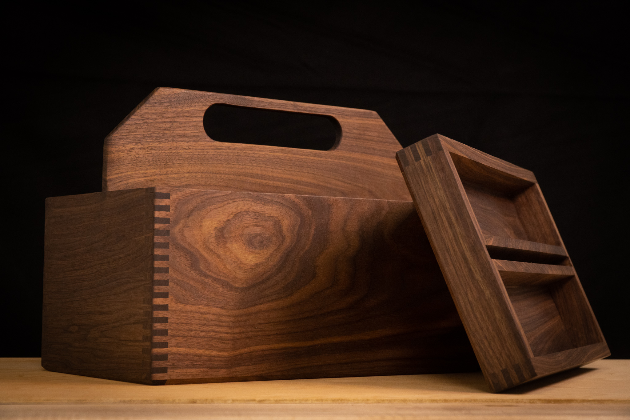 Walnut Toolbox