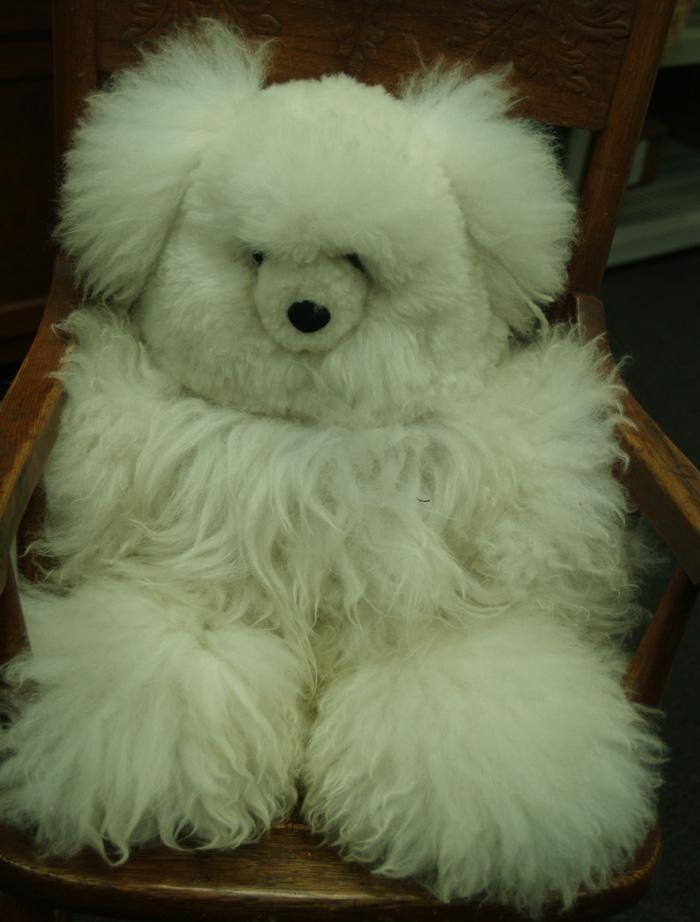 Alpaca Fiber Teddy Bear