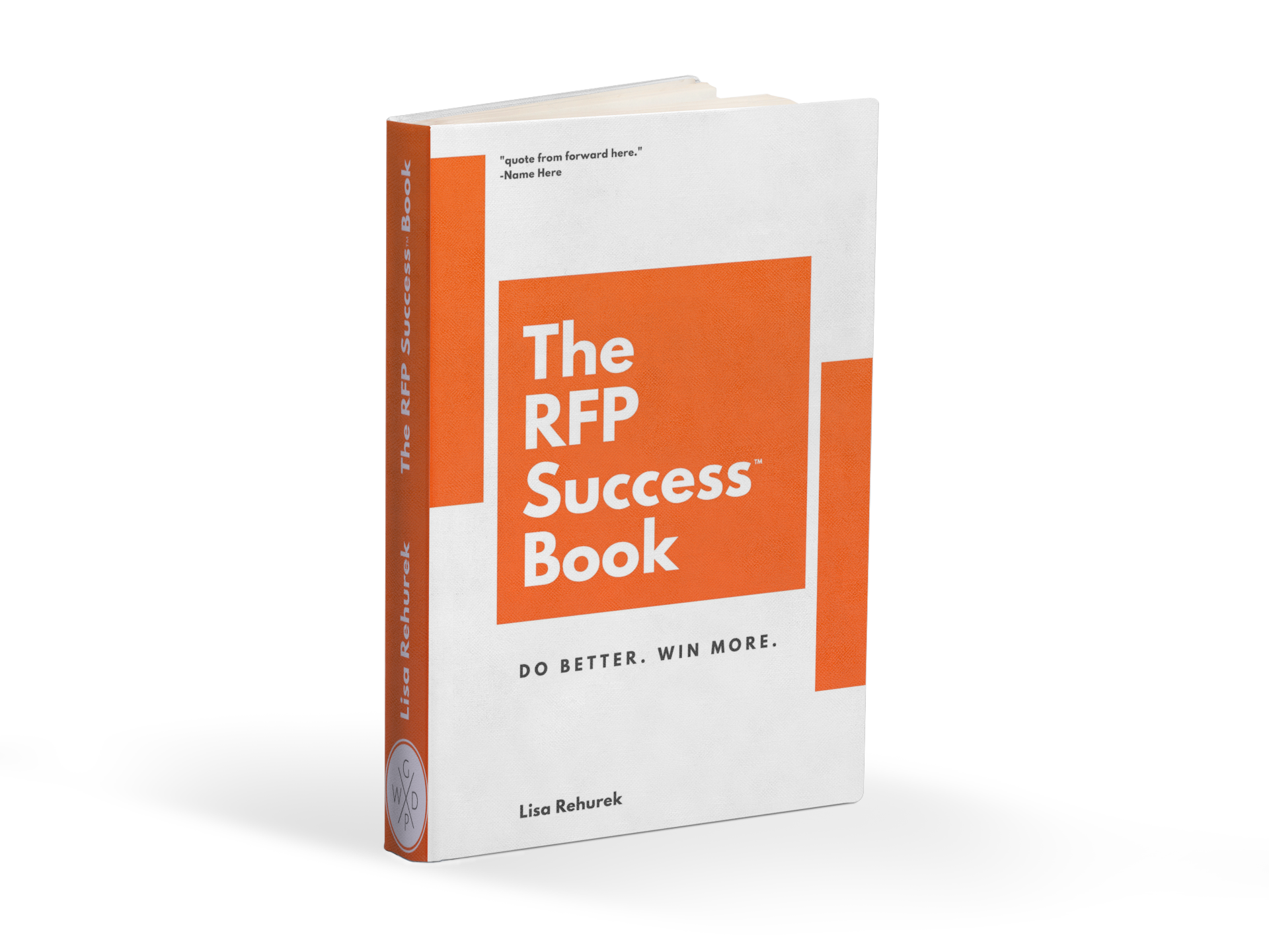 Check Out The RFP Success® Book