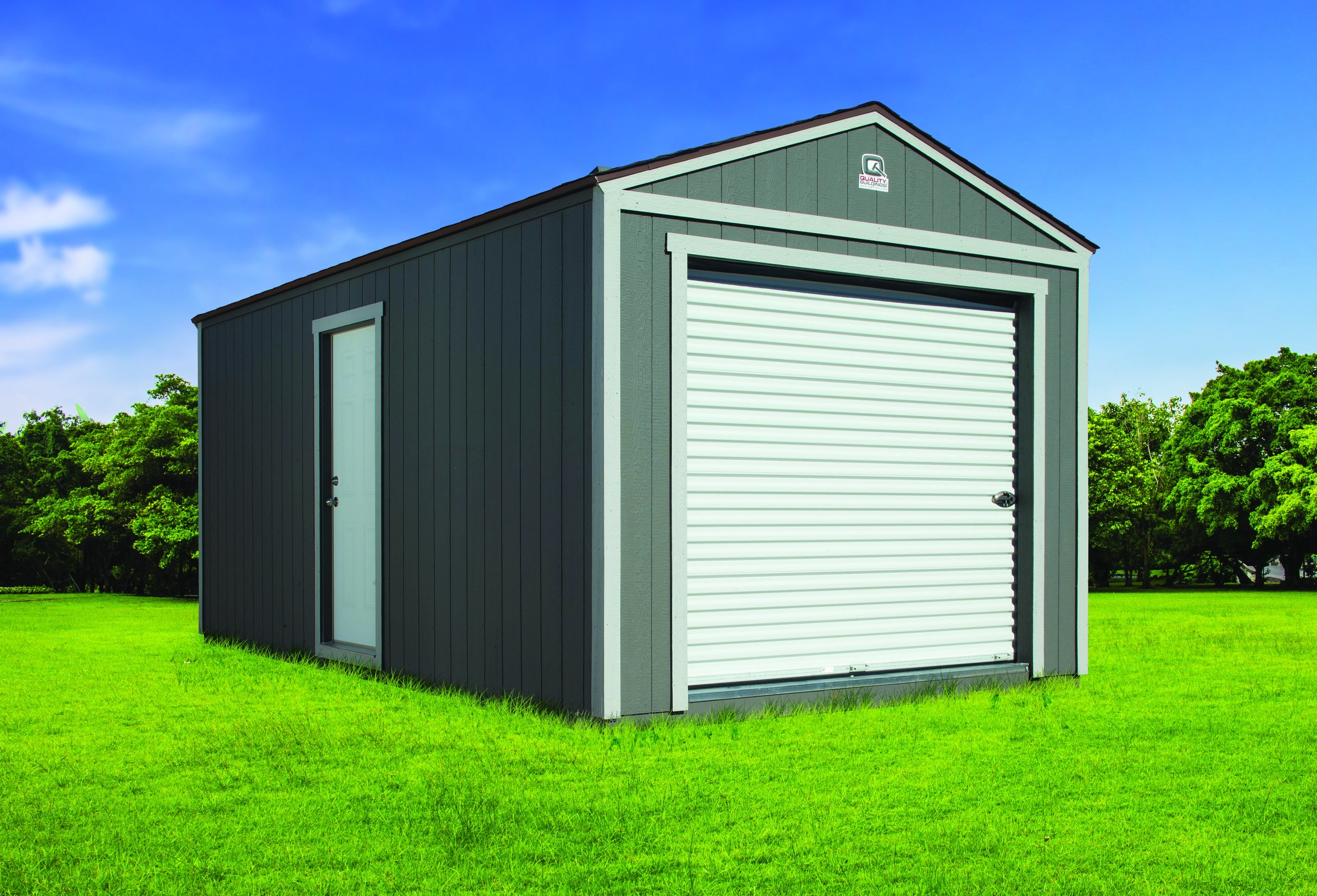 Detached Portable Garage and Storage