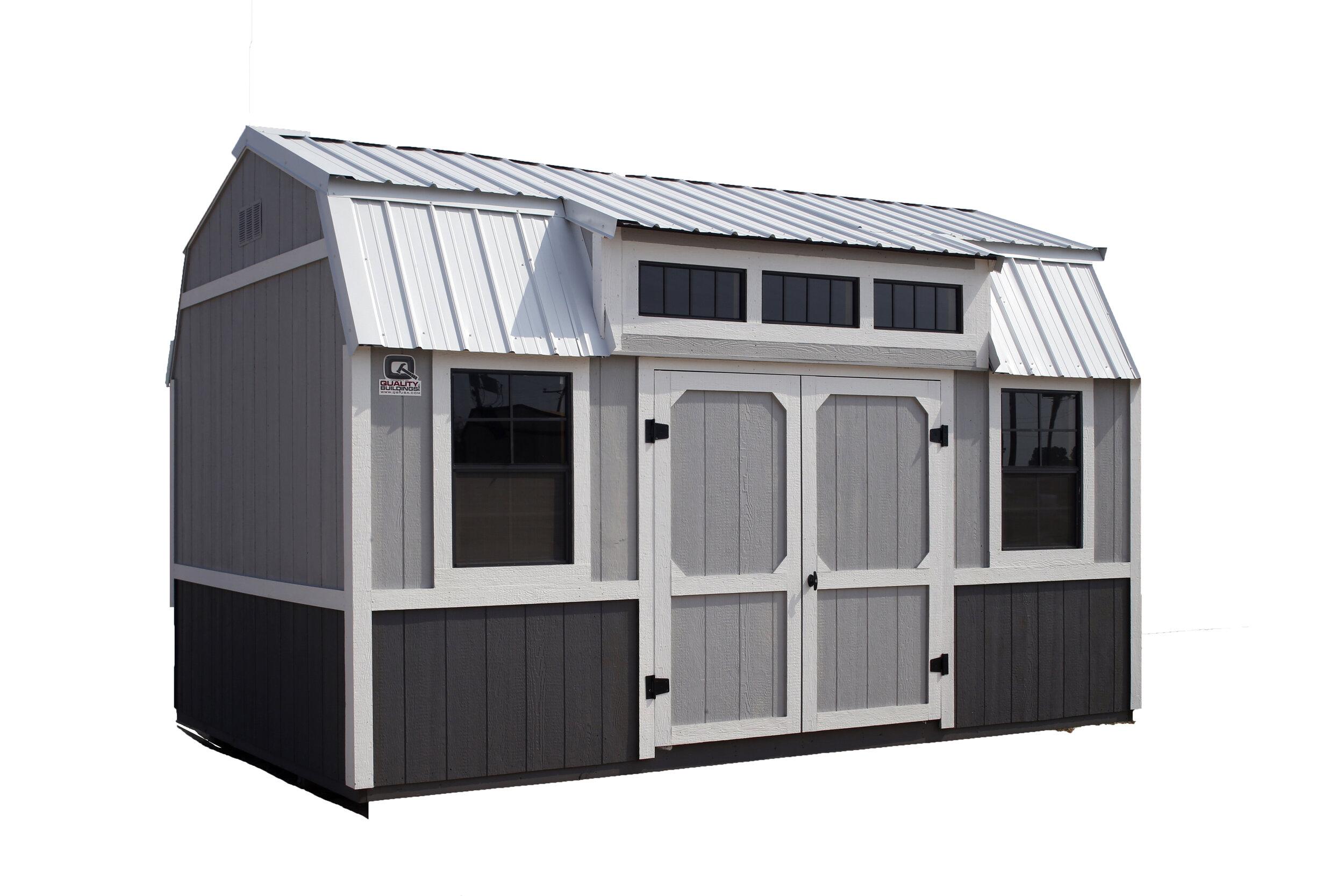 Dormer Side Loft Storage Building -