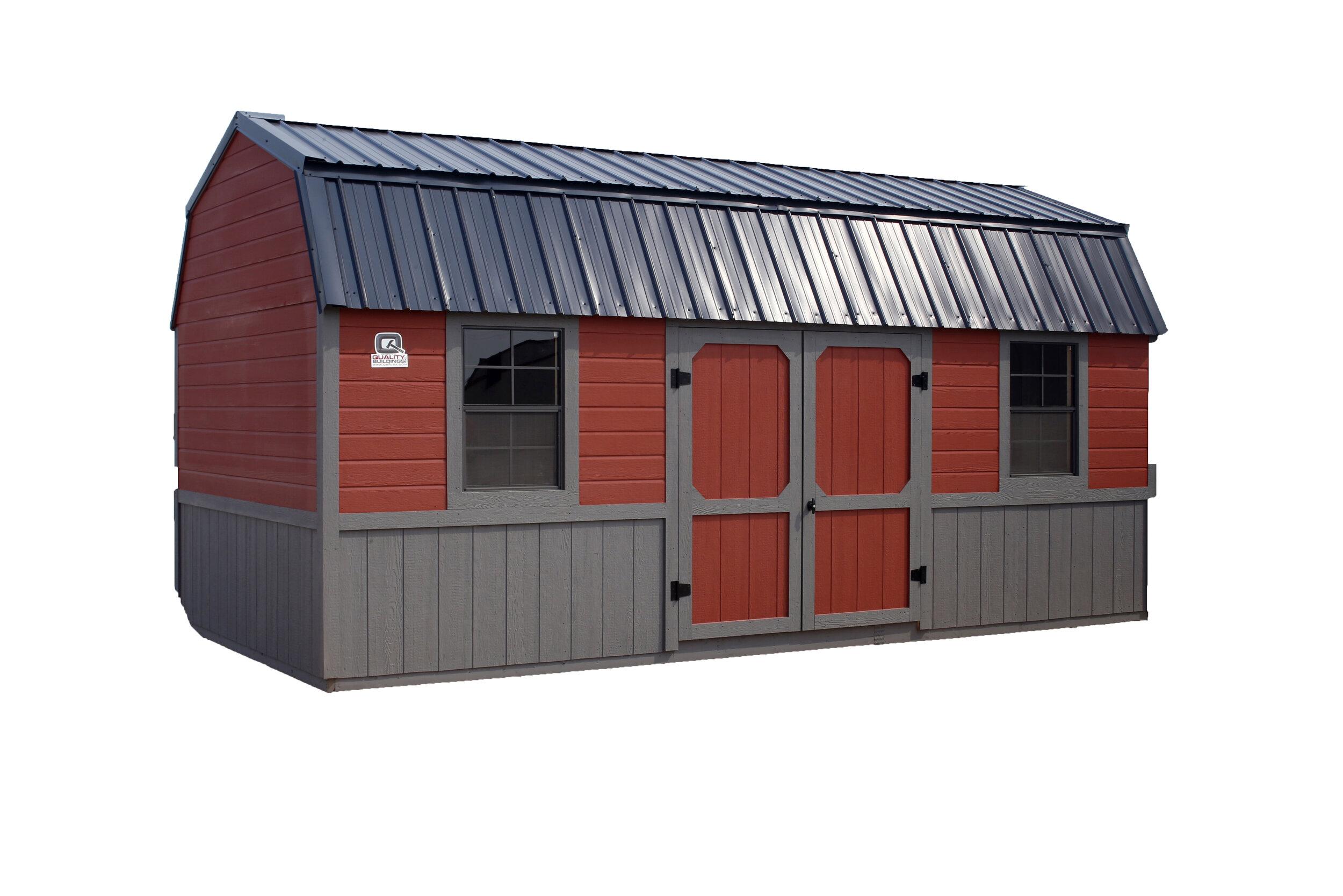 Side Loft Storage Building -