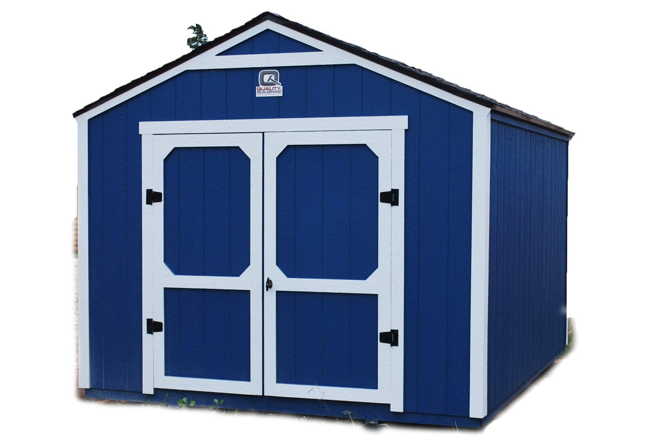 Utility Backyard Storage Shed -