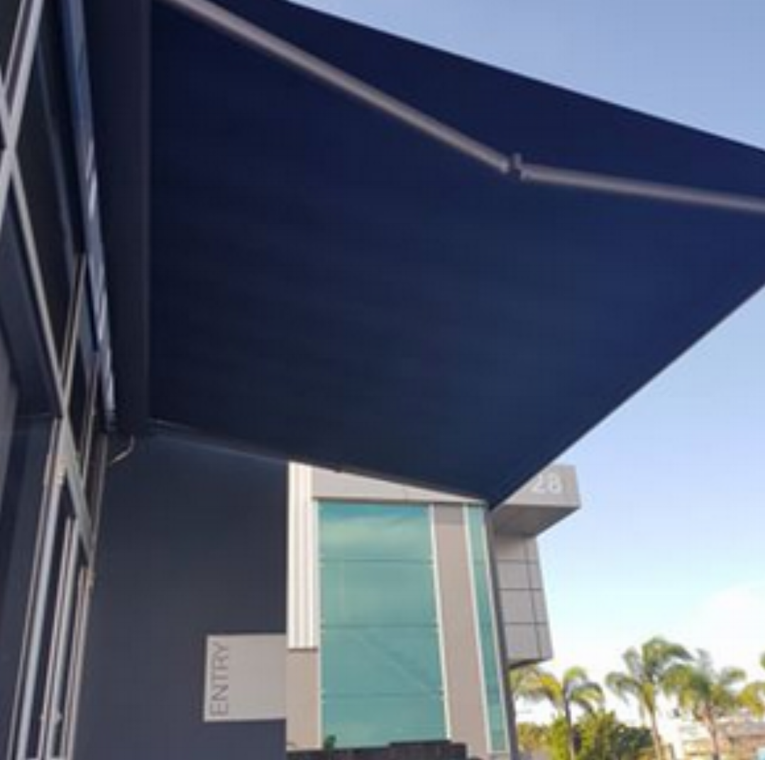 Folding Arm - Folding Arm Awnings create an extension of an area, as well as offering protection over doors and windows.
