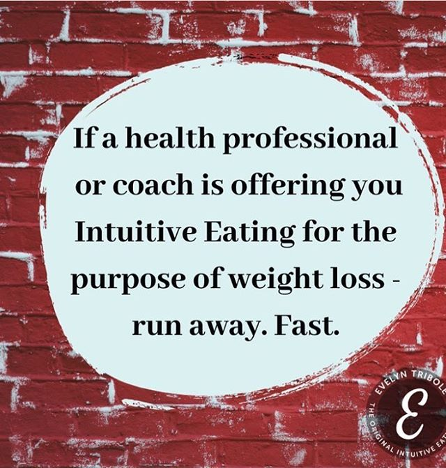 "As always, great advice from Evelyn Tribole. I am noticing more and more pushers of diets in our community using misleading phrases such as, ""ditch the diet and I can help you with fat loss."" Nope! Still a diet! Run away. Fast. #embodytherapygroup #embody #embodied #intuitiveeating #edrecovery #selfcompassion #EDSNA #HAES #heatlhateverysize #losehatenotweight #bodyliberation #bopo #bodypositivity #antidiet #bodyrespect #thebodyisnotanapology #effyourbeautystandards #feminism #acceptance #mentalhealth #therapy #riotsnotdiets #antiperfection #vulnerability"