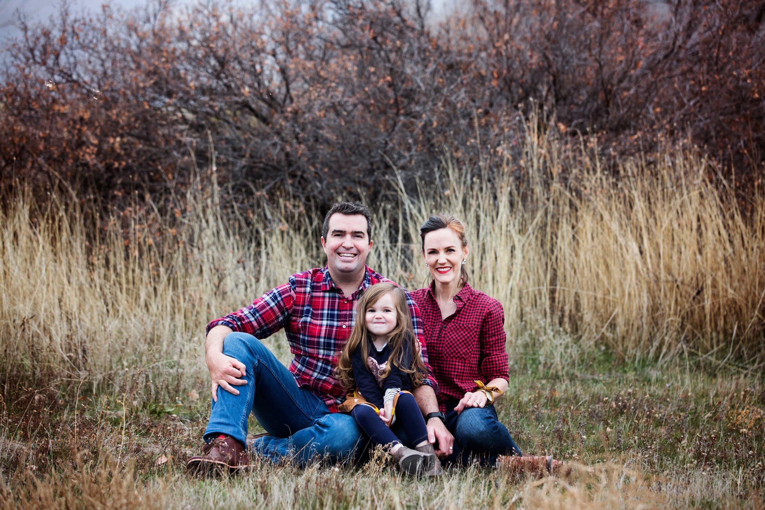 Wayne, Madison and I - my beloved family