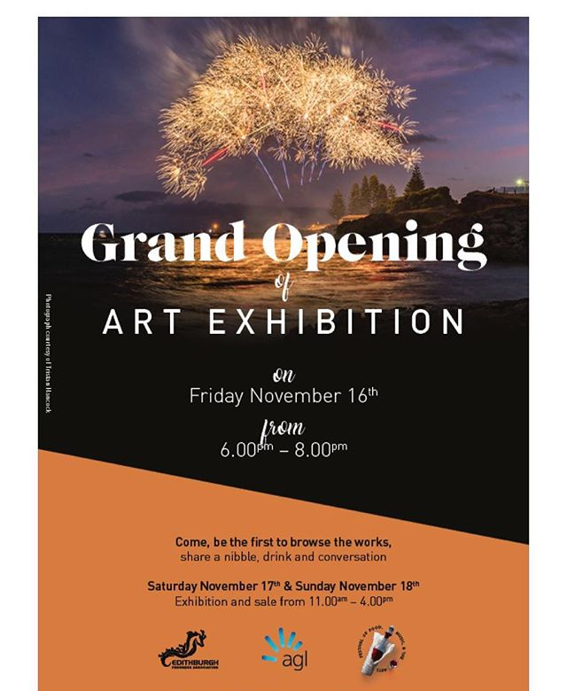 Visit Edithburgh this weekend to see some works from some of our fantastic local Yorke Peninsula Artists! November 16-18