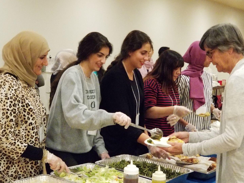 Iftar at Congregation Neveh Shalom - May 27-28, 2018. Click here for photos.