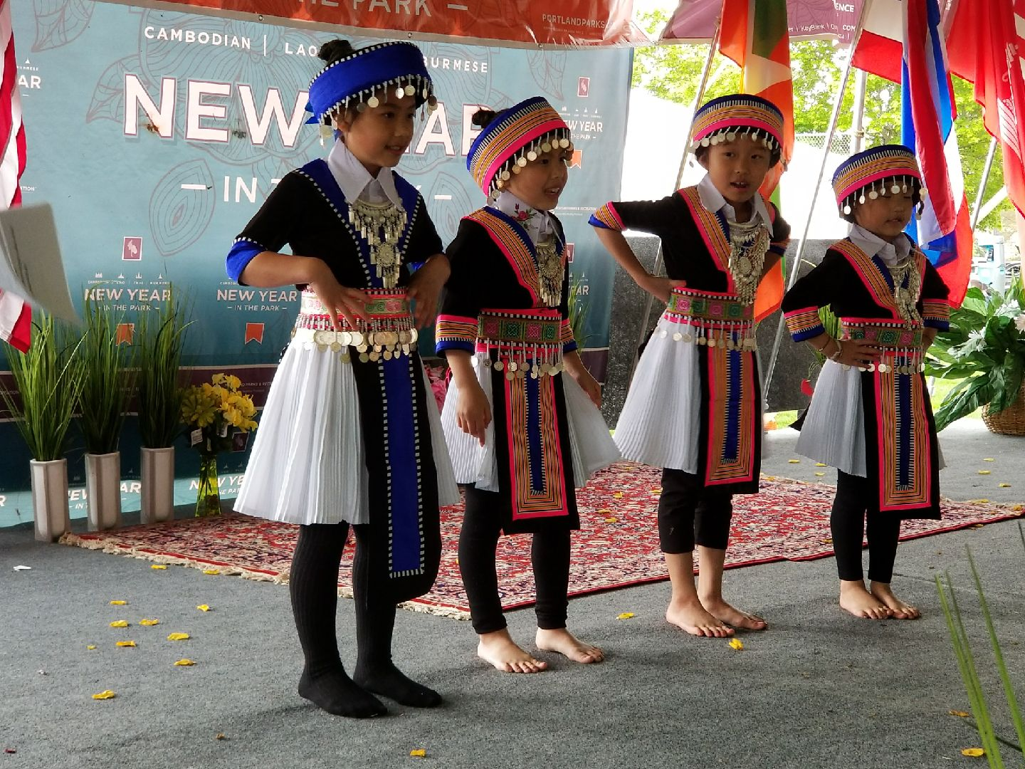 New Year in the Park - April 28, 2018, celebrating Cambodian, Thai, Lao and Burmese cultures. Click here for photos.