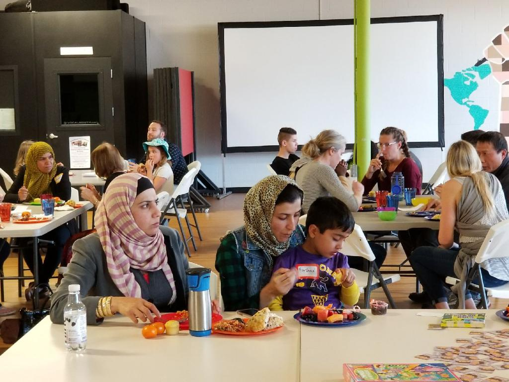 Community Potluck - April 23, 2018 with Butterfly Boxes, RIHO, PRSG. Click here for photos.