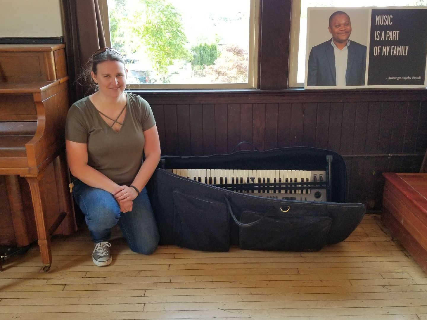 Immigrant & Refugee Music Camp Instrument Drive and Fundraiser - June 6, 2018. Hosted by Portland Meet Portland in partnership with XRAY.fm and the Oregon Public House. Click here for photos.