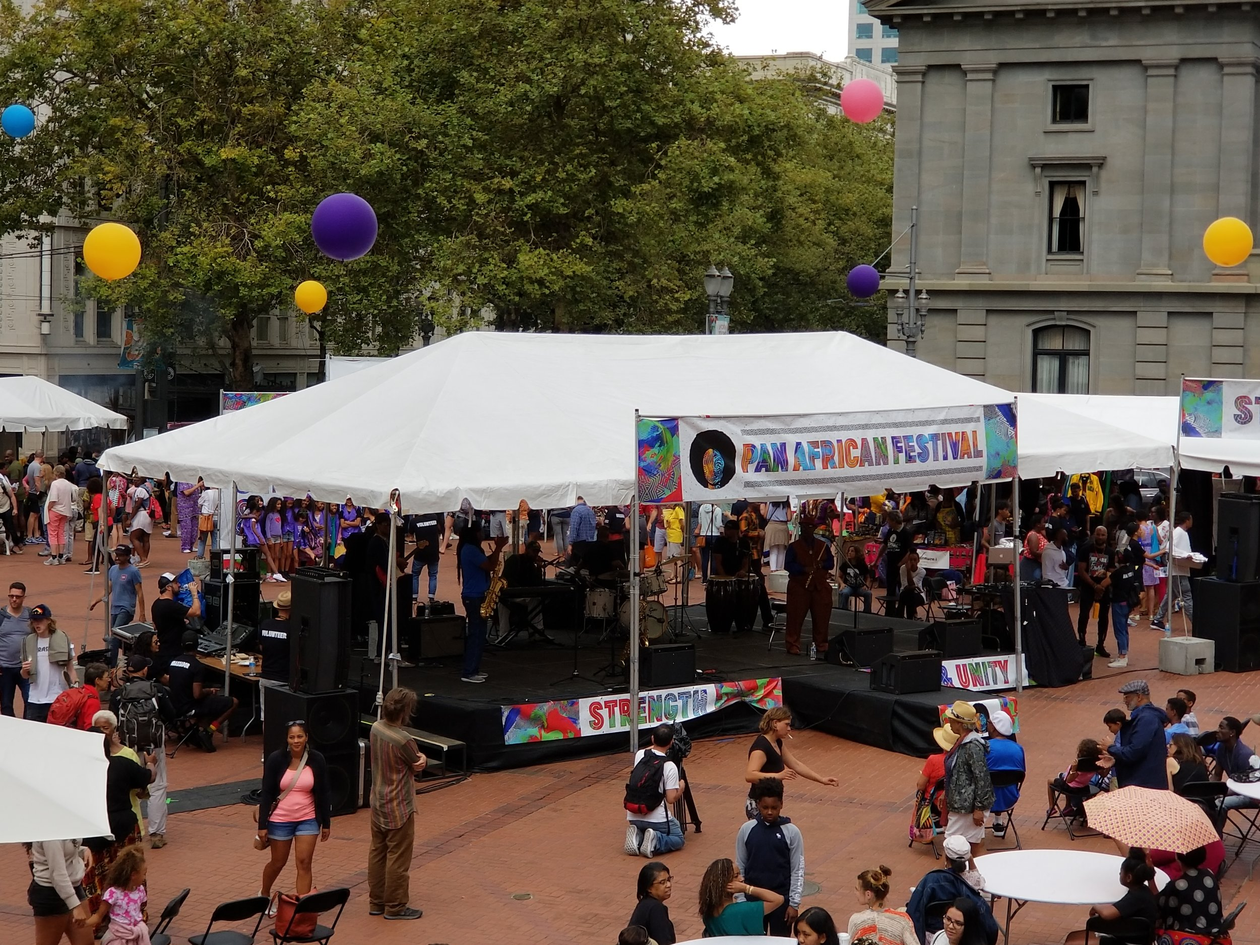 Pan African Festival - August 11, 2018 at Pioneer Courthouse Square. Click here for photos.