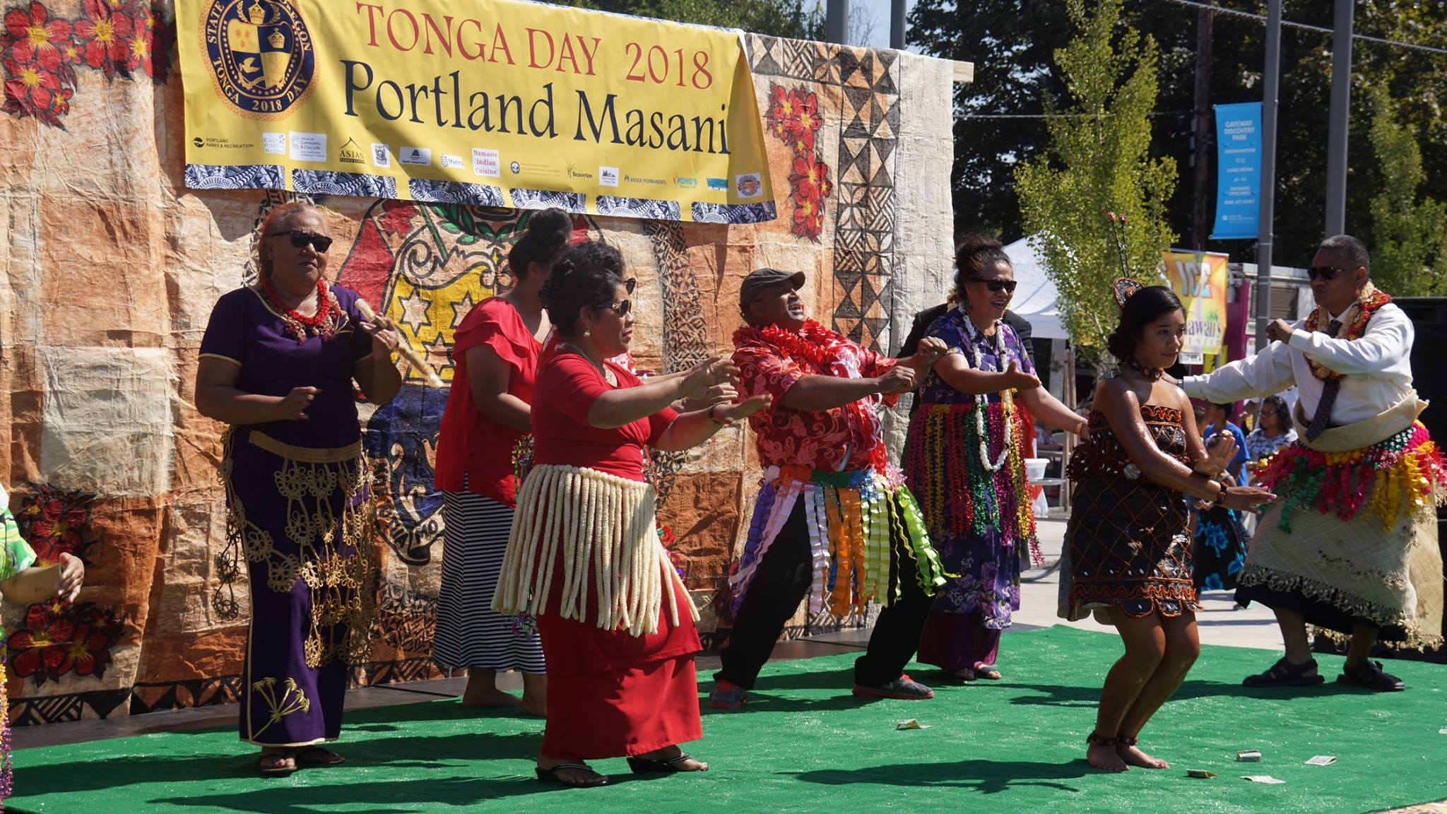 Tonga Day - August 18, 2018 at Discovery Park. Click here for photos.