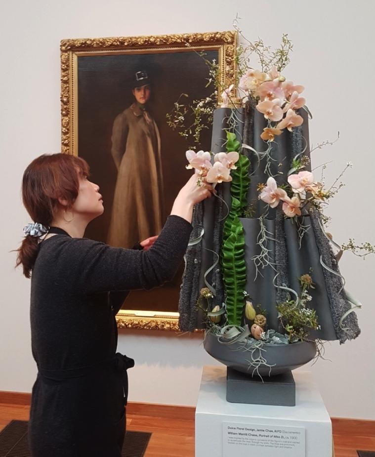 Bouquets to Art Exhibition 2018  de Young Museum, San Francisco