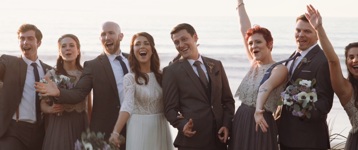 Emily & Andrew's Seaside Wedding